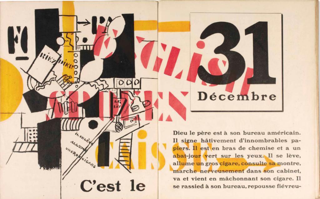 La fin du monde filmée par l'Ange ND Roman illustré par Fernand Léger