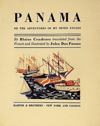Panama, livre traduit et illustré par Dos Passos